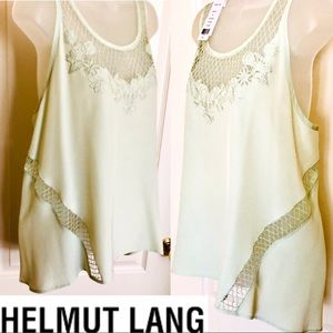 HELMUT LANG Top SILK Camisole Fabulous Glamorous